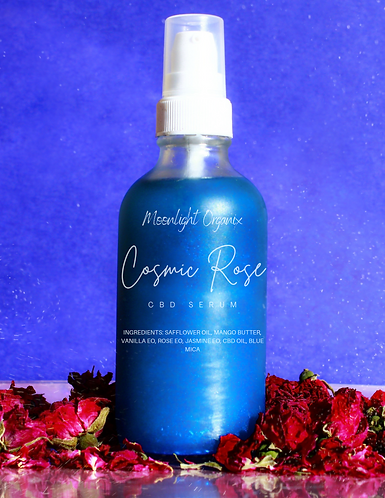 Cosmic Rose CBD Body Serum