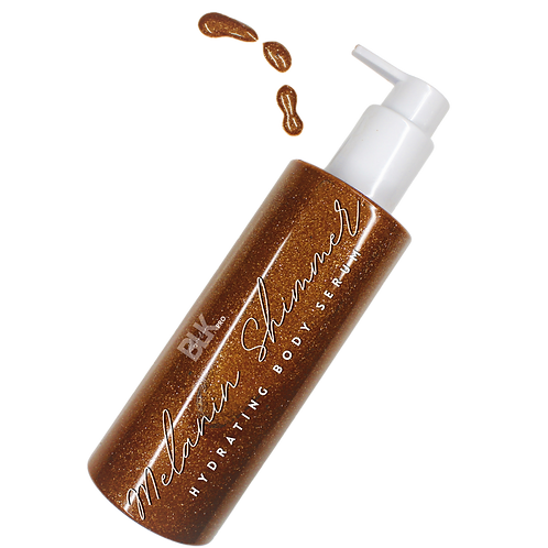 MELANIN SHIMMER HYDRATING BODY SERUM