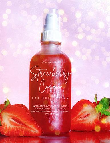 Strawberry Cosmo CBD Body Serum