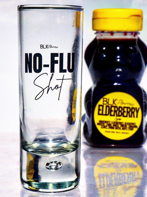 NO-FLU SHOT GLASS