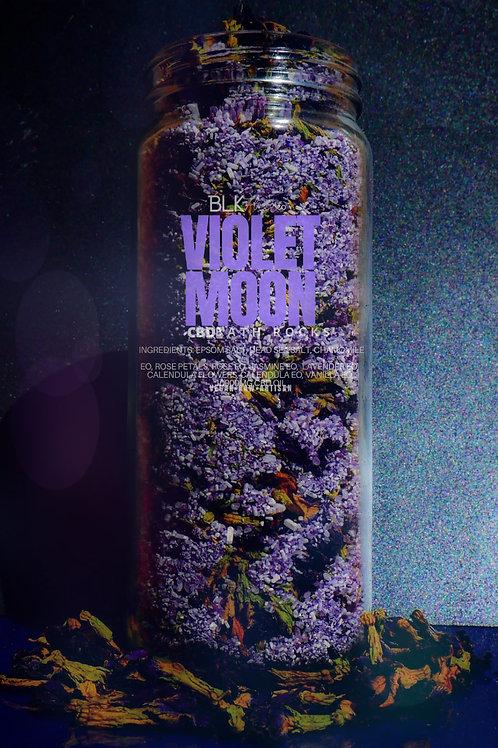 VIOLET MOON CBD BATH ROCKS