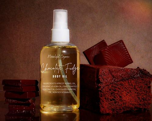 Chocolate Fudge Body Oil Spray