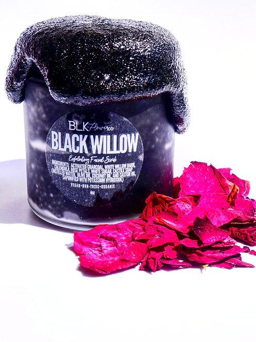 BLACK WILLOW EXFOLIATING FACIAL SCRUB
