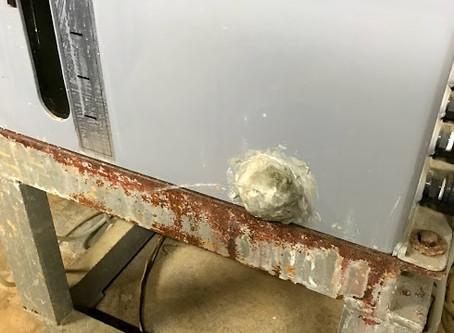 塩ビ製タンクの修理