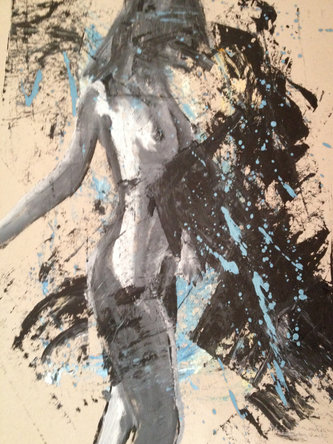 NO915 NUDE ON PAPER
