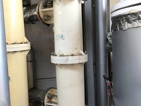 熱交換器の薬品洗浄