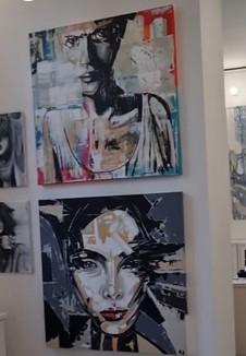ARTIST KOPPLSTÄTTER DURING BIENNALE VENICE