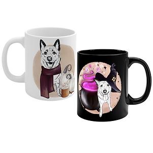 ADD-ON: Custom Pet Portrait Mug