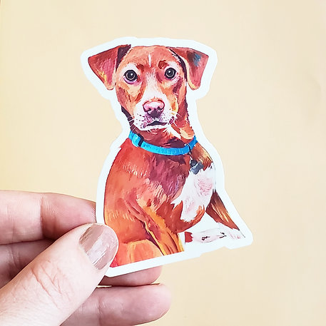 Stickers (waterproof) *requires a current of past portrait purchase