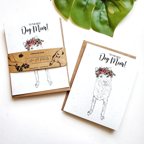 CONFETTI CUSTOM GREETING CARDS FROM YOUR PORTRAIT