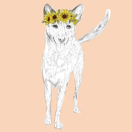 Spring Theme Digital Art (1 Pet)