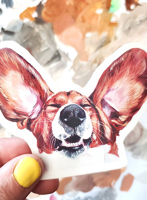 ADD-ON VINYL STICKERS: (waterproof) *requires a new or past portrait purchase