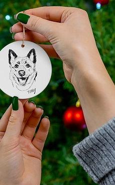 1 Ceramic Ornament