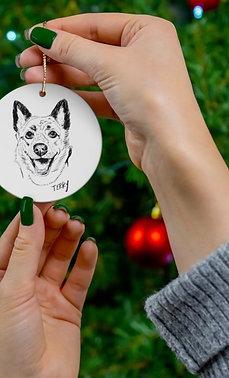 5 Ceramic Ornament Bundle