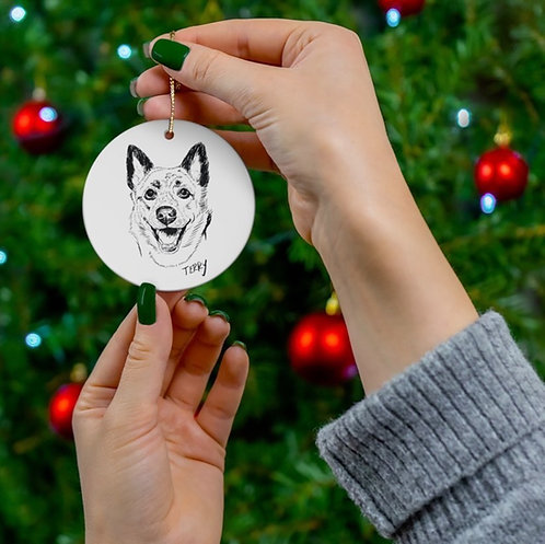 3 Ceramic Ornament Bundle