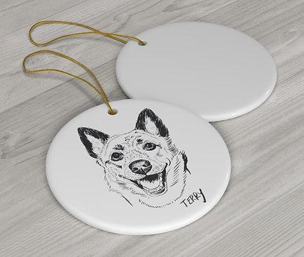 2 Ceramic Ornament Bundle