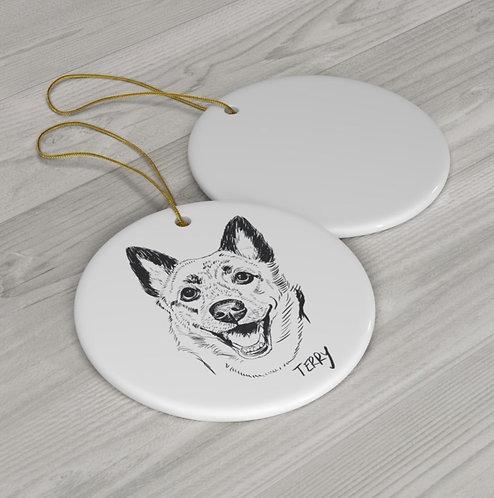 6 Ceramic Ornament Bundle