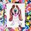 Thumbnail: COLORFUL PET PORTRAIT ON PAPER (Includes white matting board)