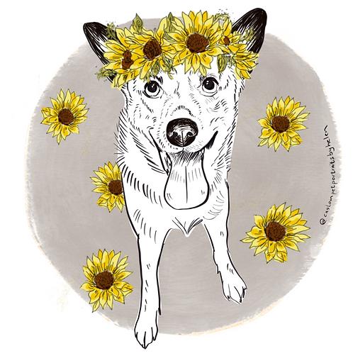 ADD ON: Sunflower Crown