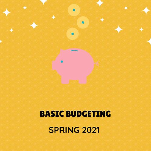 Spring 2022 - Basic Budgeting