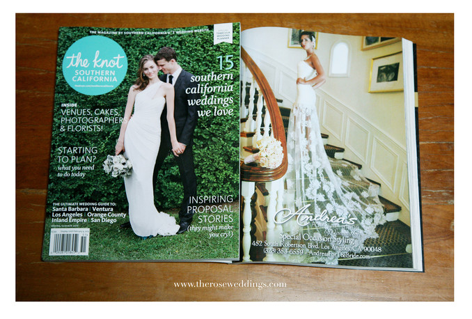 Styled Shoot Featured on The Knot - Southern California
