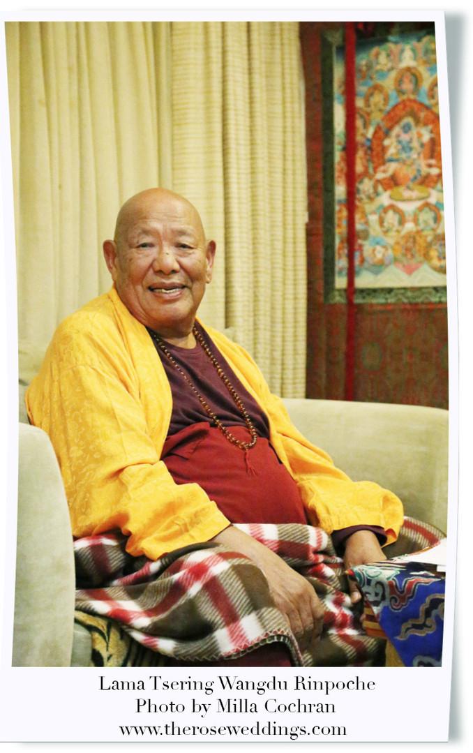 Lama Tsering Wangdu Rinpoche