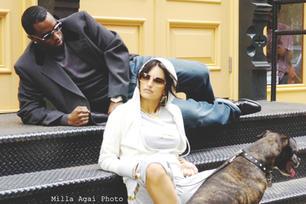 Diddy and Penélope Cruz
