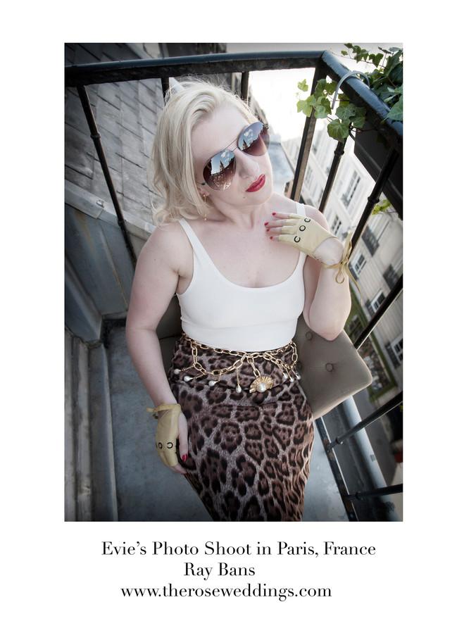 Evie's Photo Shoot in Paris, France