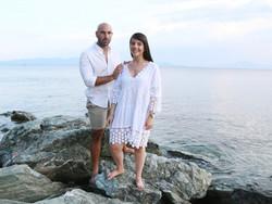 Maya and Yuri Couple's Engagement