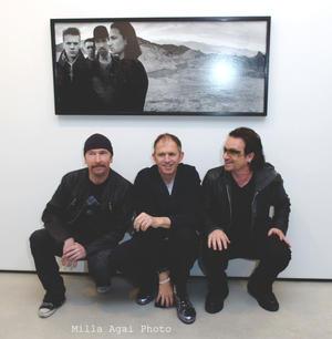 The Edge, Anton Corbijn and Bono