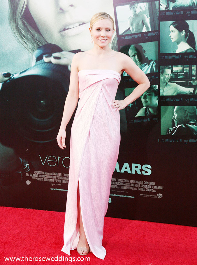 """Actress Kristen Bell at the """"Veronica Mars"""" Los Angeles Premiere"""