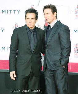 Ben Stiller and Tom Cruise