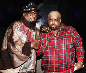 George Clinton and CeeLo Green