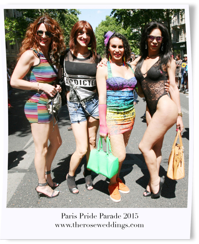 Paris Pride Parade 2015