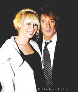 Kimberly Stewart and Rod Stewart