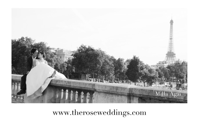 An Intimate Wedding in Paris, France.