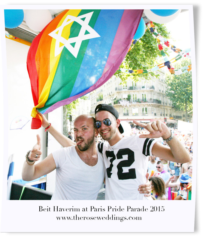 Beit Haverim at Paris Pride Parade 2015