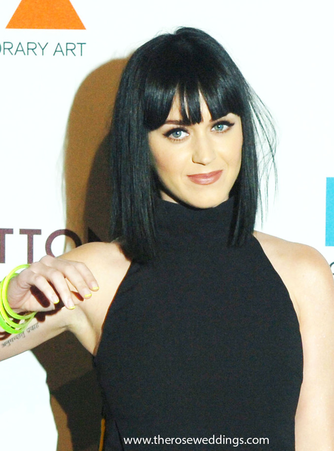 Singer Katy Perry at MOCA's 35th Anniversary Gala presented by Louis Vuitton
