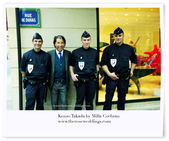 Kenzo Takada in Paris, France