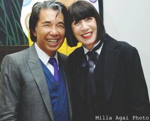 Kenzo and Chantal Thomass