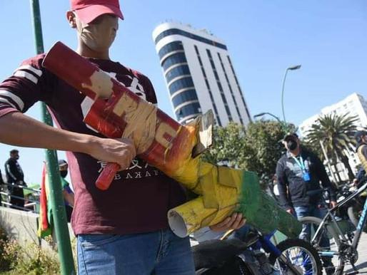 Resistencia Juvenil Cochala no logra desbloquear carretera al occidente
