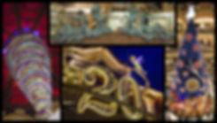 sapin noel Galeries Lafayette / 20 ans Disney / atelier bournillat sculpture