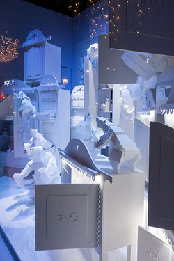 Vitrine Galeries Lafayette Noël 2016