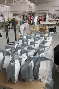 Pingouins en préparation