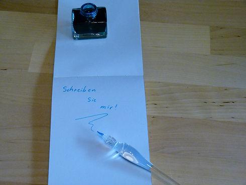 gedankenwege-schrift-glasgriffel-tintenf