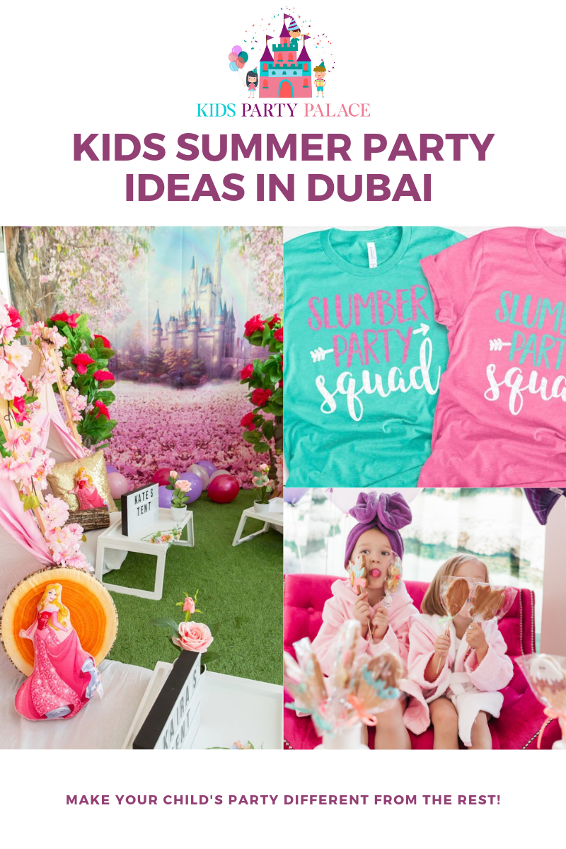Sleepover party ideas in Dubai