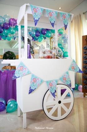 Mermaid Magic Candy Cart
