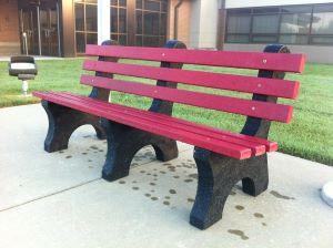 175th Anniversary Food Drive and Bench Dedication