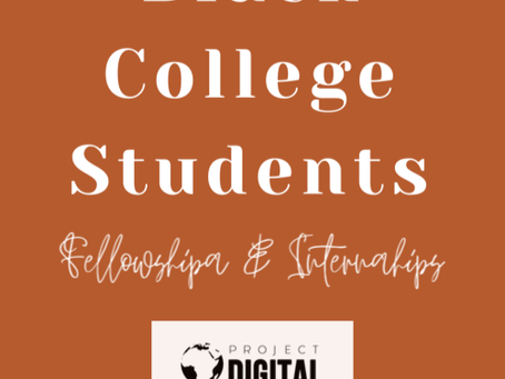 Media College Fellowships and Internships for Black Students (Multicultural)