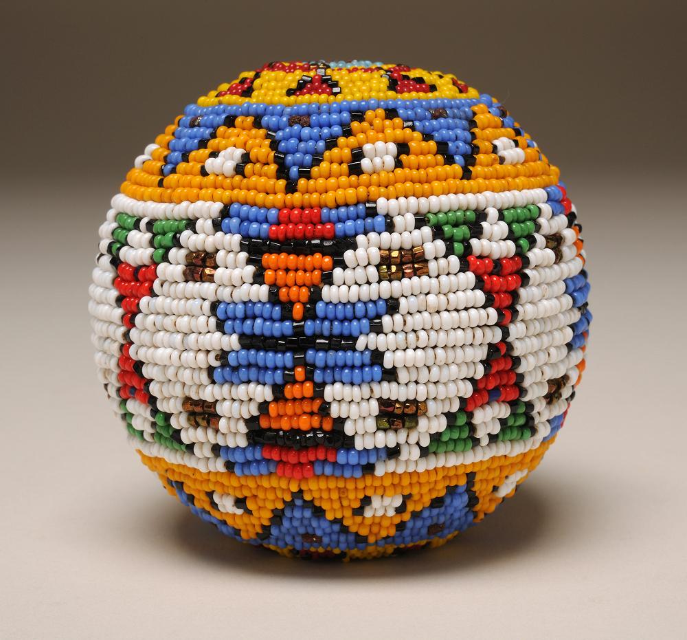 2012.36.01 Ball, Sioux, ca. 1930